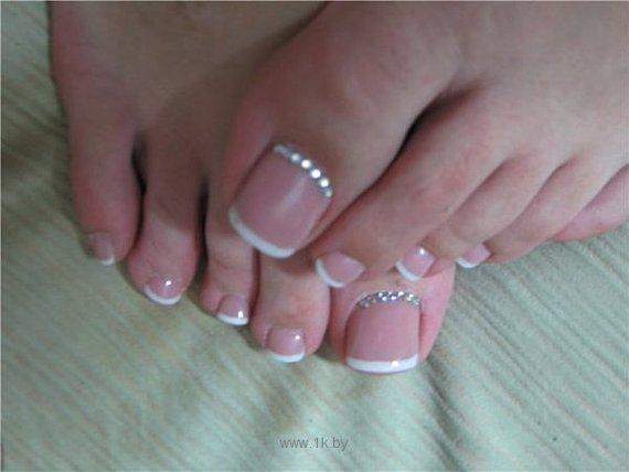 Фото ногти на ногах педикюр